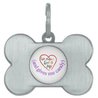 Me Candy Pet ID Tag