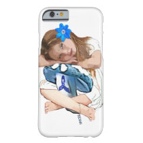"ME/CFS Awareness ""Girl of Hope"" Cell Phone Case"
