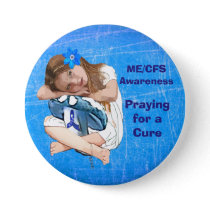 "ME/CFS Awareness ""Girl of Hope"" Pinback Button"