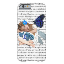 """ME/CFS"" Chronic Fatigue Angel Fairy Girl Barely There iPhone 6 Case"