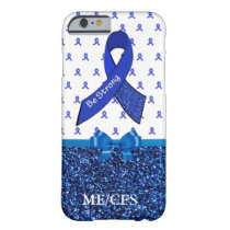 ME/CFS Chronic Fatigue Awareness Ribbon Phone Case