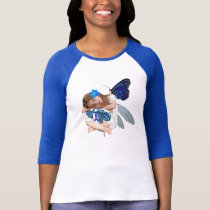 ME/CFS Chronic Fatigue Little Girl Angel Fairy T-Shirt
