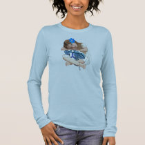 ME/CFS Chronic Fatigue Little Girl of Hope Long Sleeve T-Shirt
