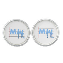ME CFS Chronic Fatugue Cufflinks