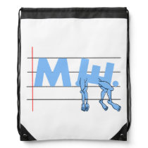ME CFS Chronic Fatugue Drawstring Backpack
