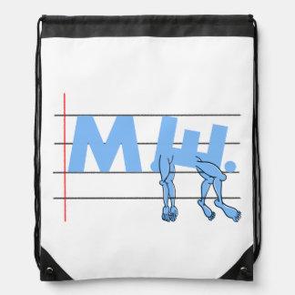 ME CFS Chronic Fatugue Drawstring Backpack