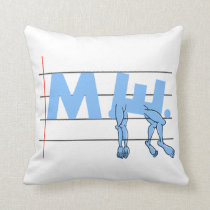ME CFS Chronic Fatugue Throw Pillow