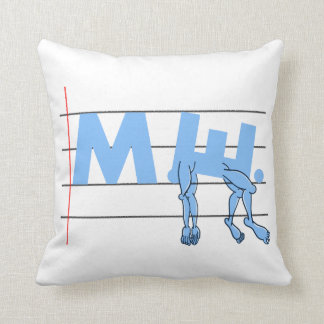 ME CFS Chronic Fatugue Throw Pillow