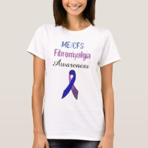 ME/CFS Fibromyalgia Ribbon Awareness Shirt