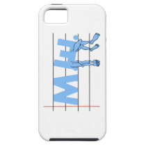 ME Chronic Fatigue Text Art Cartoon iPhone SE/5/5s Case