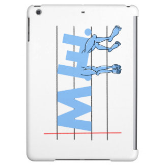 ME Chronic Fatigue Text Art Cartoon Cover For iPad Air