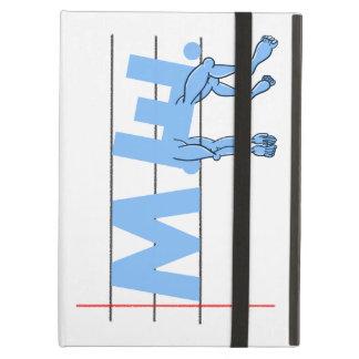 ME Chronic Fatigue Text Art Cartoon iPad Air Cover