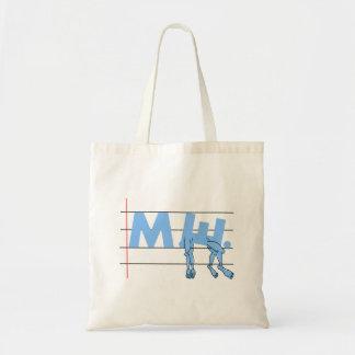 ME Chronic Fatigue Text Art Cartoon Tote Bag