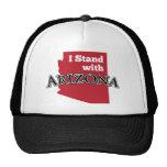 Me coloco con Arizona Gorras De Camionero