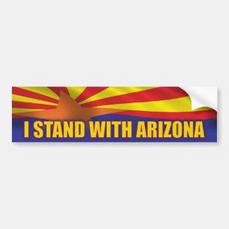 Me coloco con Arizona Pegatina Para Auto