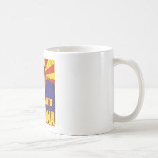 Me coloco con Arizona Tazas De Café