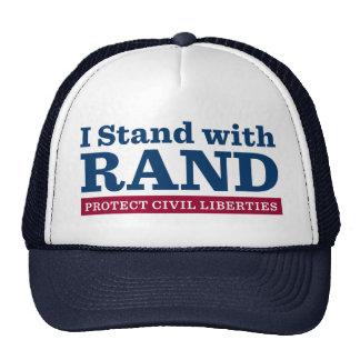 Me coloco con el rand gorras de camionero