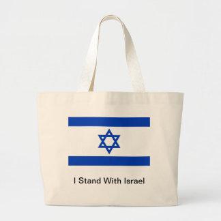 Me coloco con Israel Bolsa De Tela Grande