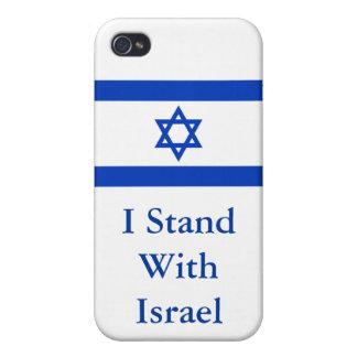 Me coloco con Israel iPhone 4 Carcasas