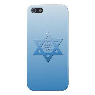 Me coloco con Israel iPhone 5 Carcasa