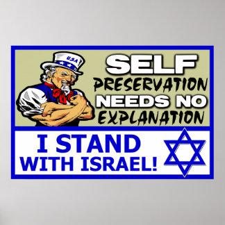 ¡Me coloco con Israel! Poster