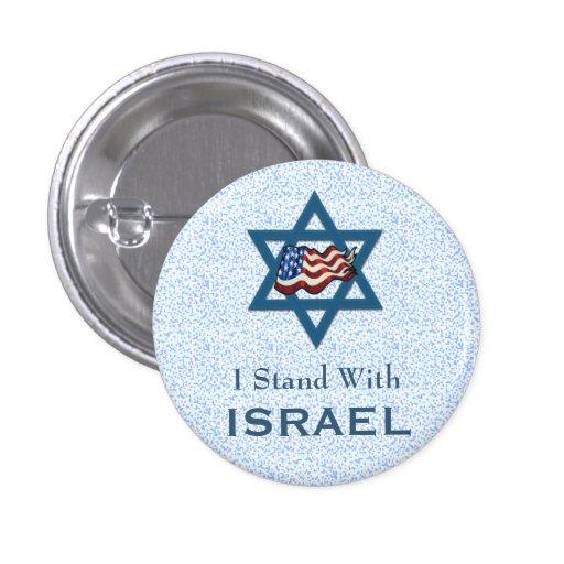 Me coloco con Israel Pin Redondo De 1 Pulgada