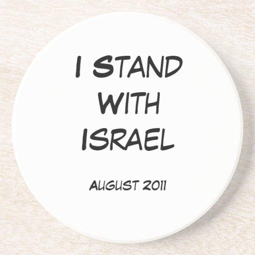 Me coloco con Israel Posavasos Manualidades