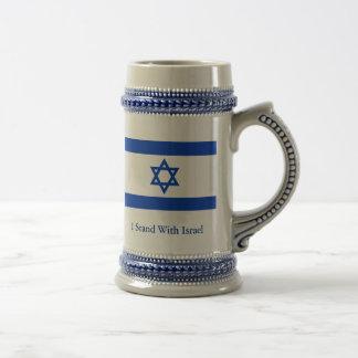 Me coloco con Israel Jarra De Cerveza