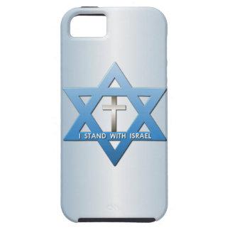Me coloco con la estrella cruzada cristiana de iPhone 5 carcasa