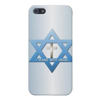 Me coloco con la estrella cruzada cristiana de iPhone 5 funda