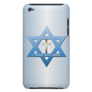 Me coloco con la estrella cruzada cristiana de iPod touch cárcasas
