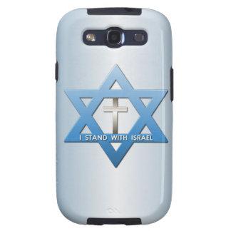 Me coloco con la estrella cruzada cristiana de Isr Samsung Galaxy S3 Cobertura