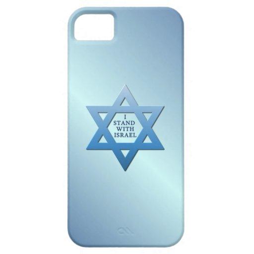 Me coloco con la estrella de Israel de David en az iPhone 5 Case-Mate Coberturas