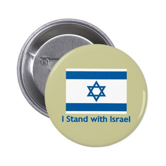 Me coloco con los regalos y las camisetas de Israe Pin Redondo De 2 Pulgadas