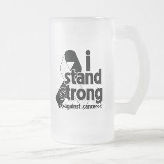 Me coloco fuerte contra cáncer carcinoide taza