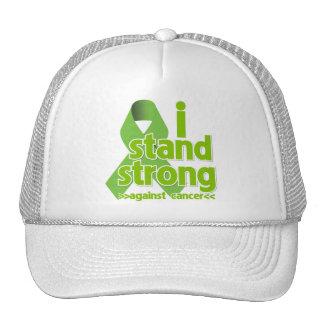 Me coloco fuerte contra cáncer del linfoma gorras