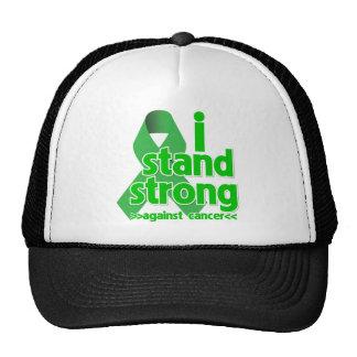Me coloco fuerte contra cáncer del riñón gorras de camionero