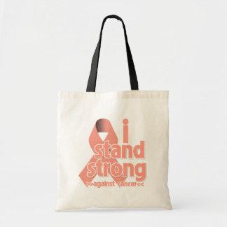 Me coloco fuerte contra cáncer endometrial bolsa tela barata