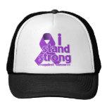 Me coloco fuerte contra cáncer pancreático gorras