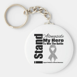Me coloco junto a la mi enfermedad de Parkinson de Llaveros Personalizados
