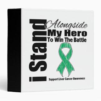 Me coloco junto a mi cáncer de hígado del héroe