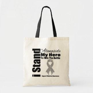 Me coloco junto a mi diabetes del héroe bolsa