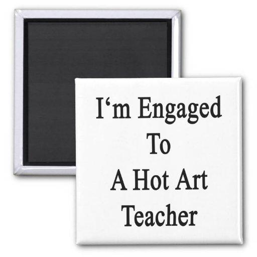 Me contratan a un profesor de arte caliente iman para frigorífico