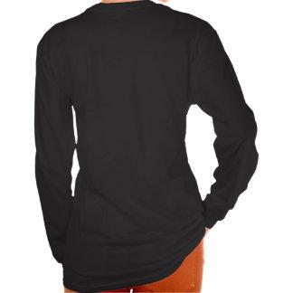 Me Culpa - Design Ladies Long Sleeve Black T-Shirt