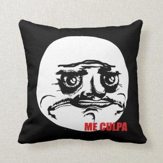 Me Culpa - Design Pillow