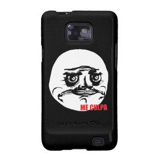 Me Culpa - Samsung Galaxy S Black Case Samsung Galaxy SII Cover
