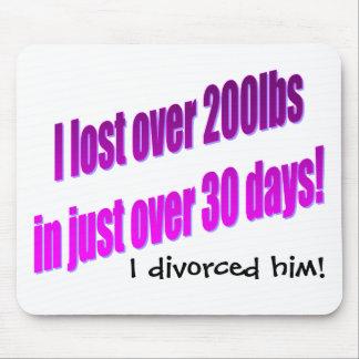 Me divorcié lo Mousepad Alfombrilla De Ratones