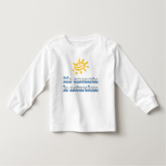 Me Encanta la Naturaleza - I Love Nature Argentine Toddler T-shirt