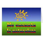 Me Encanta la Naturaleza - I Love Nature Colombian Card