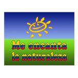 Me Encanta la Naturaleza - I Love Nature Colombian Post Cards